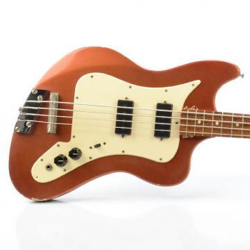 Custom 1960's MURPH Squire Electric Bass Guitar w/ Original Hard Case #26447