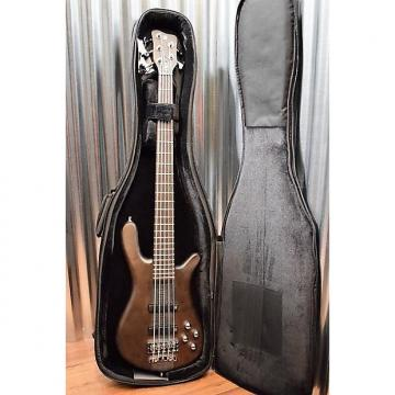 Custom Warwick German Pro Series Streamer Stage I 5 String Bass Nirvana Black #5215