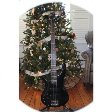 Custom Ibanez SR300L Bass Black