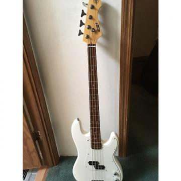 Custom S101 Jazz Bass White