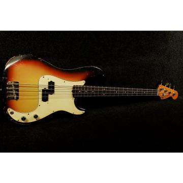 Custom RebelRelic 62 P-Series Bass  3 Tone Sunburst