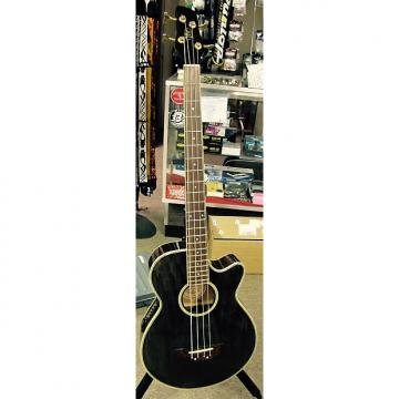 Custom JB Player AB3600 Acoustic/Electric 4 String Bass c1995 Transparent Black