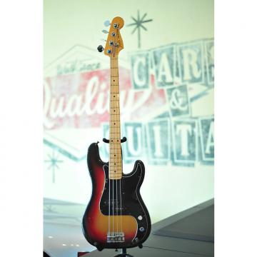 Custom 1978 Fender Standard Precision Bass Maple Sunburst
