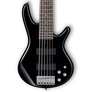 Custom Ibanez GSR206 Gio Series 6 String Bass - Black