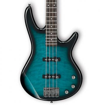 Custom Ibanez GSR370 Limited Edition Gio Series 4 String Bass - Transparent Marine Sunburst