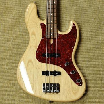 Custom Schecter California USA Custom Shop Classic Jazz Bass - 2015 - Natural