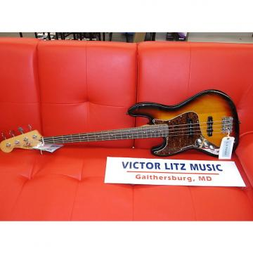 Custom Squier Vintage Modified Left Handed Jazz Bass Sunburst 0306620500