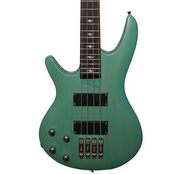 Custom Fishbone PB4 ELDC-L 4 String Bass LEFT Handed Green Transparent Mate Awesome bass Guitar