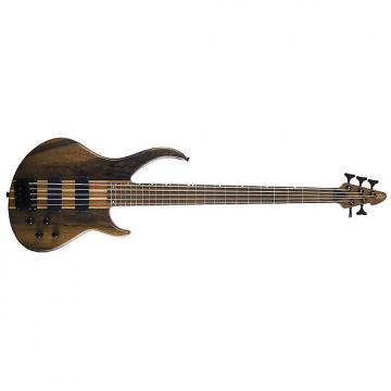 Custom Peavey Grind 5 Neck Through 5-String Bass Guitar Natural Rosewood Fingerboard