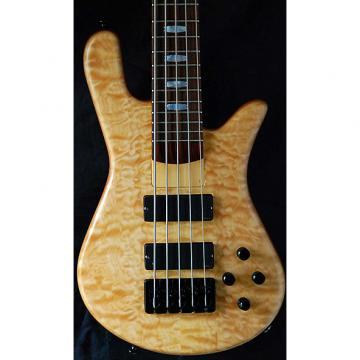 Custom Spector USA NS5H2 Natural Oil Finish Natural Oil Finish