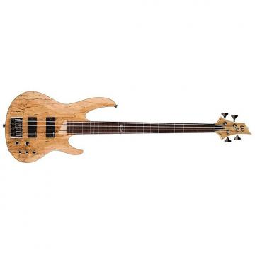 Custom ESP LTD B-204SM 4-String Electric Bass Guitar - Natural