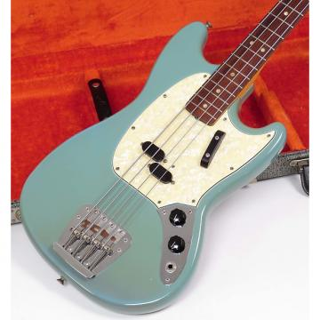 Custom Fender Mustang Bass 1968  Daphne Blue
