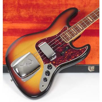Custom Fender Jazz Bass 1969 Sunburst