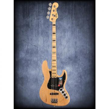 Custom Fender American Elite Jazz Bass Ash MN Natural WC