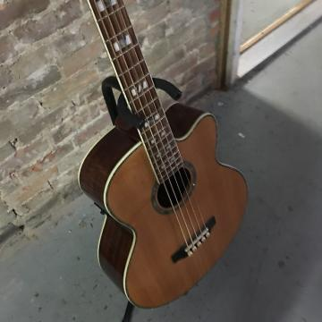 Custom Ltd Xtone Natural Wood Acoustic Bass Guitar
