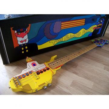 "Custom TPP ""Beatles"" Yellow Submarine Fender Precision Bass - Custom Build"