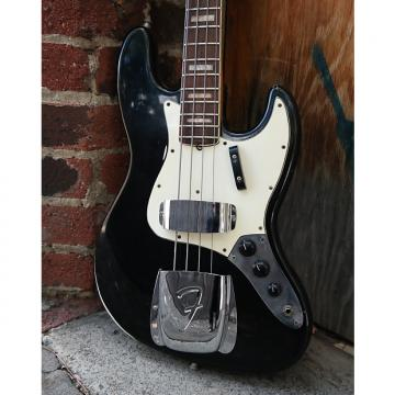 Custom Fender Fender 1968 Fender Jazz Bass Black