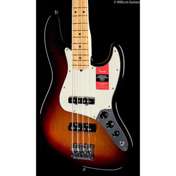 Custom Fender American Pro Professional Jazz Bass 3-Tone Sunburst Maple (618)
