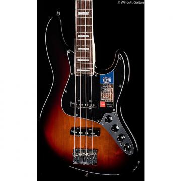 Custom Fender American Elite Jazz Bass 3-Tone Sunburst (197)