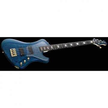 Custom ESP Stream CTM Electric Bass in Marine Blue