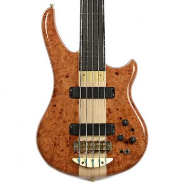 Custom Alembic Essence 5 Amboyna Burl Top Mahogany Core/Back (Serial #K14552)