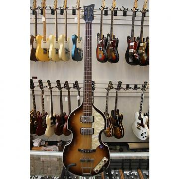 Custom 2003 Hofner Cavern 500/1 Electric Bass Sunburst