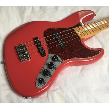 Custom Fender Custom Shop Classic Custom Jazz Bass 2011 Fiesta Red