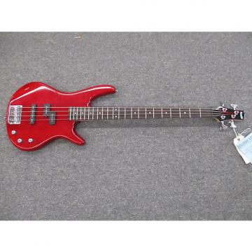 Custom Ibanez GRS200 trans red 4 string bass guitar P and J pickup config