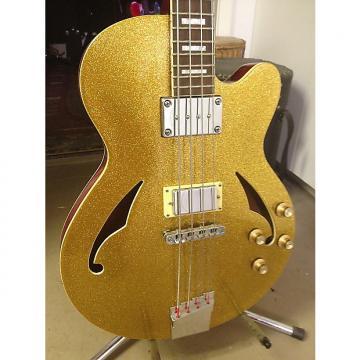 Custom Italia Torino Bass Gold Metal Flake