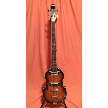 Custom Conrad Violin Bass 1960s 2 Color Sunburst