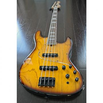 Custom Bacchus Craft Japan Series - STD-JB ASH4 ver.2 - 4 String Active Bass - Sunburst Finish - NEW