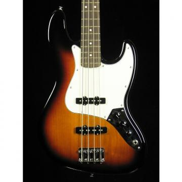 Custom Fender Jazz Bass Standard 2014 3 Tone Sunburst