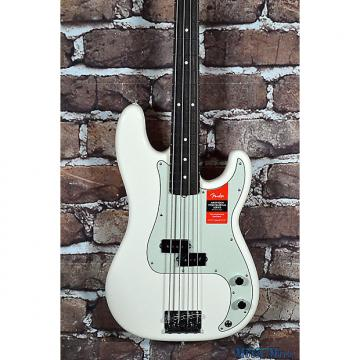 Custom Brand New Fender American Professional Precision Bass RW Olympic White
