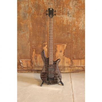 Custom Spector Legend Classic 4 String Electric Bass EMG pickups Trans Black + HDSC