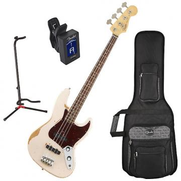 Custom Fender 014-1020-356 Flea Signature Bass Guitar Bundle