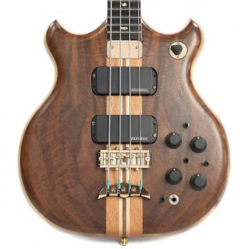 Custom Alembic Brown Bass Flame Walnut Top/Back Myrtle Core (Serial #BB14549)