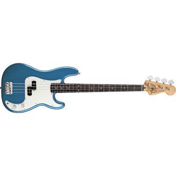 Custom Fender Standard Series Precision Bass Guitar - Black / Maple