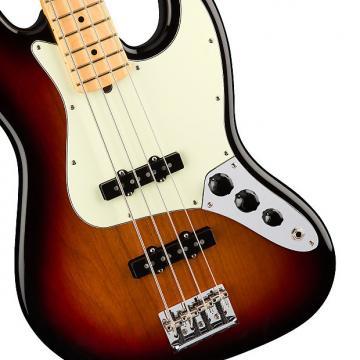 Custom Fender American Professional Jazz Bass, 3-Tone Sunburst, Maple Board - 0193902700