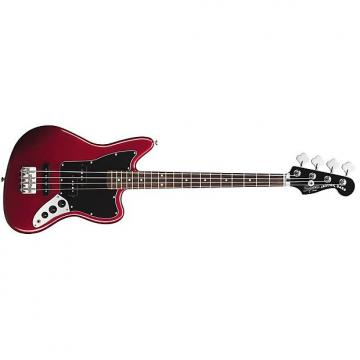 Custom Squier Vintage Modified Jaguar Special SS Short Scale Electric Bass - Candy Apple Red
