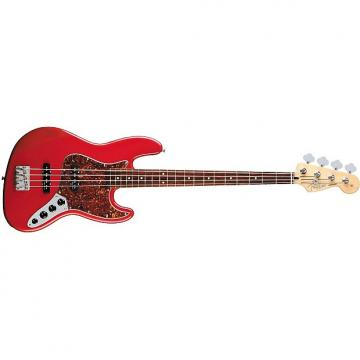 Custom Fender Deluxe Active Jazz Bass - Candy Apple Red