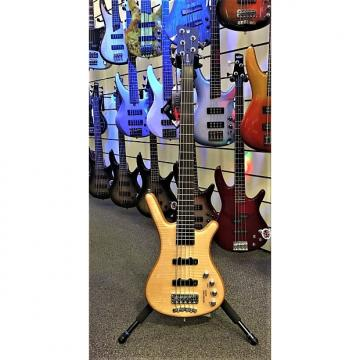 Custom Warwick Corvette Premium 5 String 2016 Natural High Polish