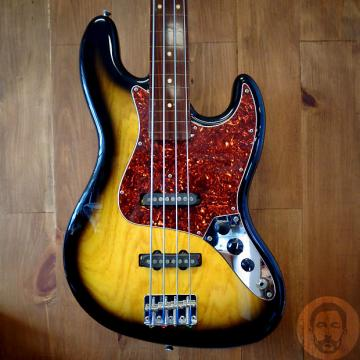 Custom 1996 Schecter California Custom Shop Fretless Jazz Bass - Monstertone P/U's w/ Hardshell Case