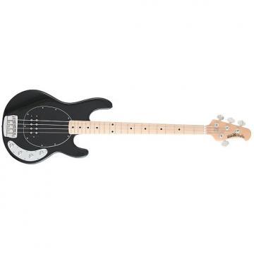 Custom Ernie Ball Musicman StingRay 4-String Electric Bass Guitar - Black