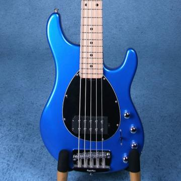 Custom Ernie Ball Musicman Sterling 5 Electric Bass Guitar - Blue Pearl