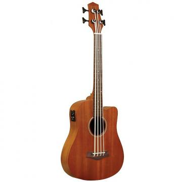 Custom Goldtone M Bass Microbass Fretless Short-Scaled Acoustic Electric Bass with Bag