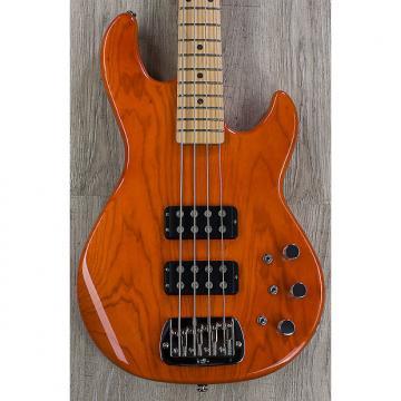 Custom G&L USA L-2000 Bass, Clear Orange, Swamp Ash, Maple Fretboard