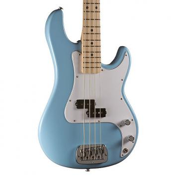 Custom G&L USA LB-100 Electric Bass, Himalayan Blue, Maple