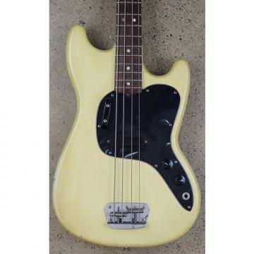 Custom Fender Musicmaster Bass 1979 Olympic White