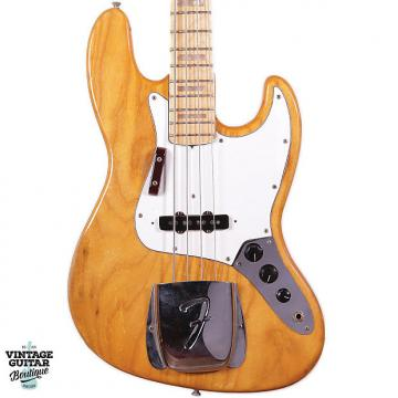 Custom 1975 Fender Jazz Bass - Natural