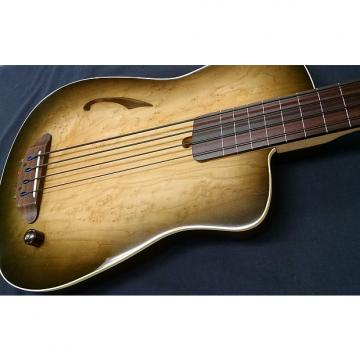Custom Blue Note Woodworks Acousta-Elecktra Bassic Bass #412
